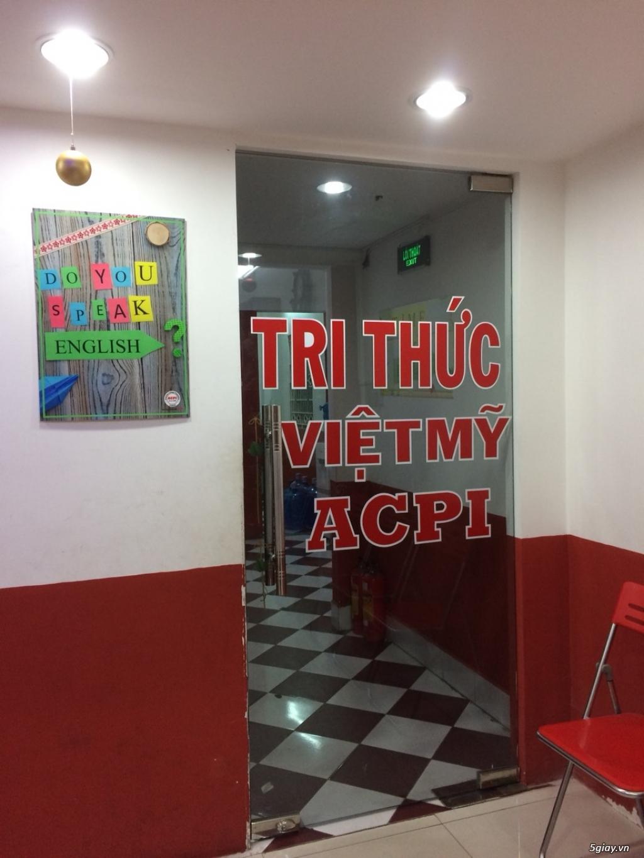 [BÁN/GỌI ĐẦU TƯ] Trung tâm Anh Ngữ Tri Thức Việt Mỹ ACPI