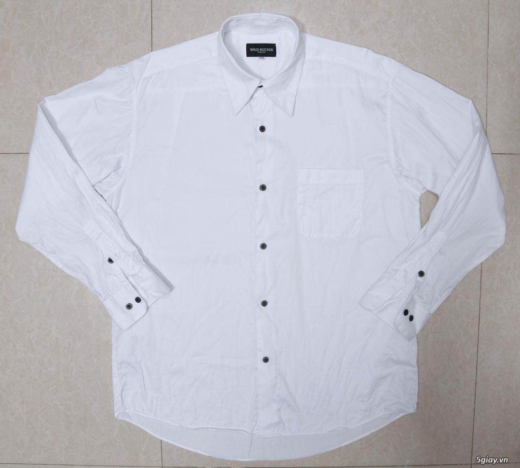 5 áo sơ mi trắng Japan chuẩn công sở mời anh em Bid khởi điểm 120k/ms ET 22h59' - 25/8/2019