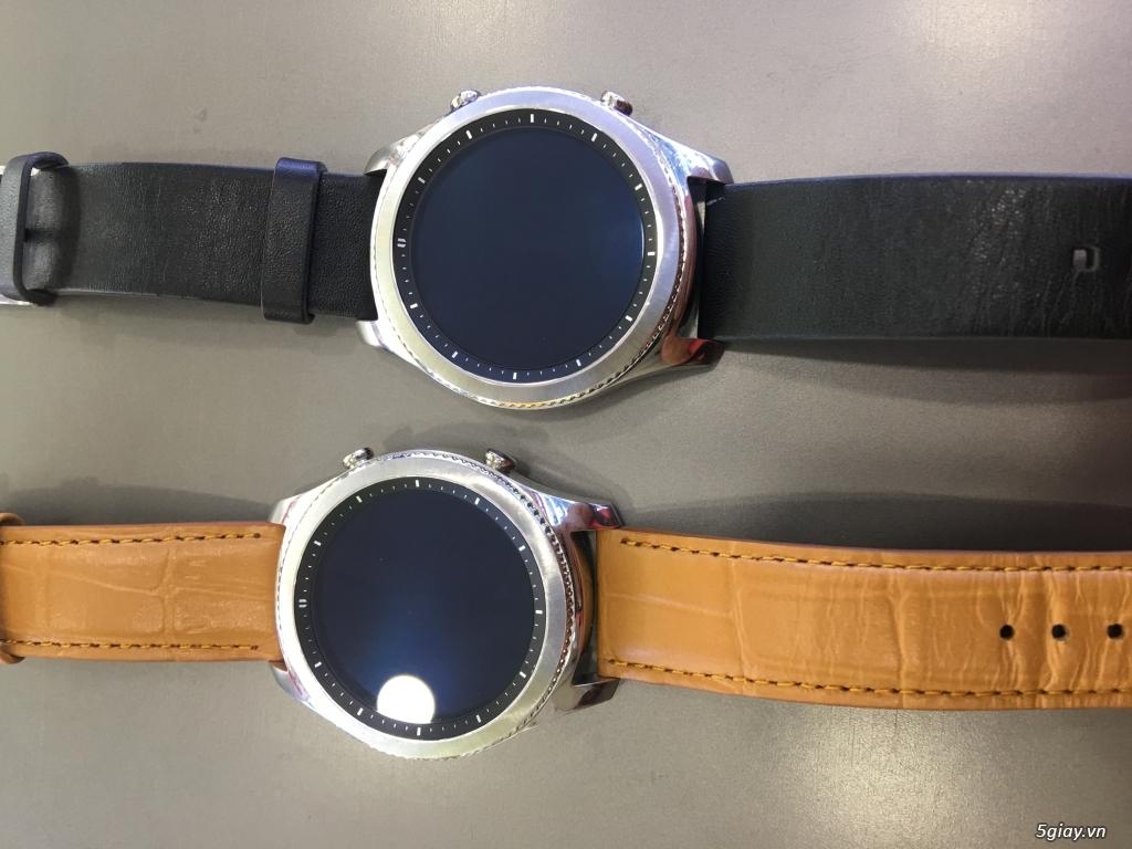 Đồng hồ samsung gear s3 classic mã R770 xách tay Mỹ chính hãng - 4