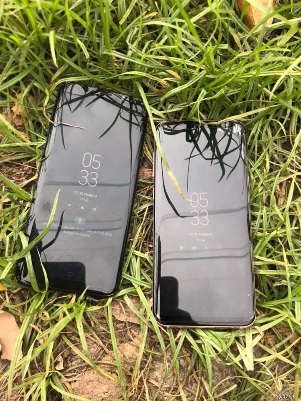 Samsung Galaxy S8 Plus 2 sim đep 98-99% - 2