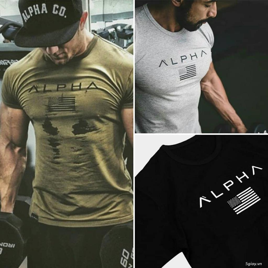 Quần áo tập GYM nam - ALPHA SPORT - Giá rẻ, chất lượng, mẫu mã đa dạng - 1