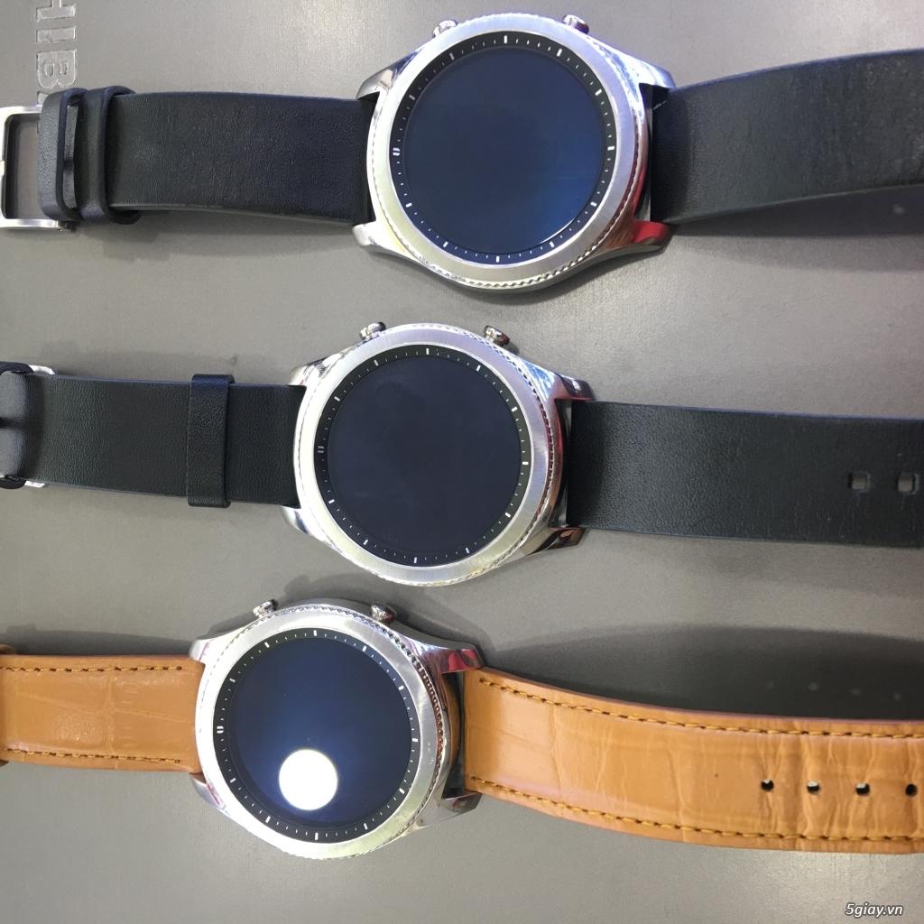 Đồng hồ samsung gear s3 classic mã R770 xách tay Mỹ chính hãng - 1