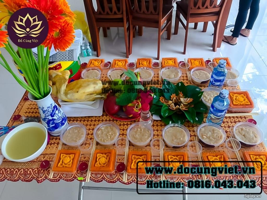 Mâm cúng Đầy Tháng - Thôi Nôi cho Bé Trai - Bé Gái tại Đà Nẵng - 3
