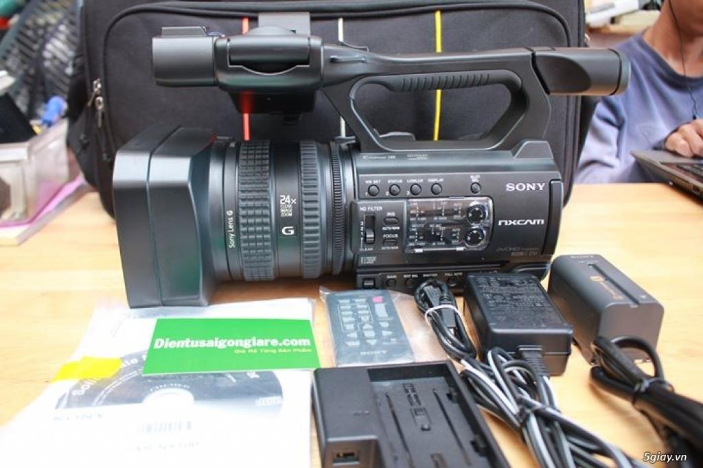 Bán Máy quay Phim chuyên dụng SONY HXR-NX100 Bảo Hành đến 31/05/2021. - 2
