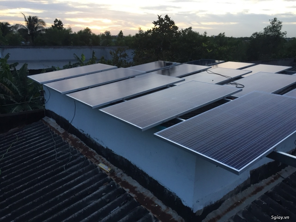 lắp đặt điện năng lượng mặt trời - 1