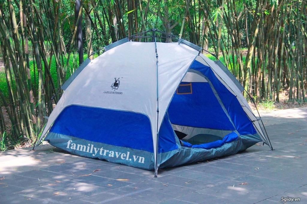 Lều dã ngoại bung tự động 4 người Gazelle Outdoors - 2