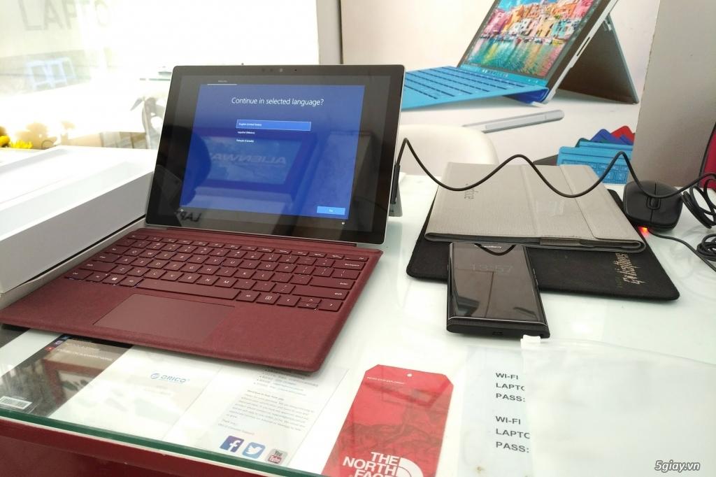 Surface pro 5 99,99% core i5 Ram 8g SSD 128