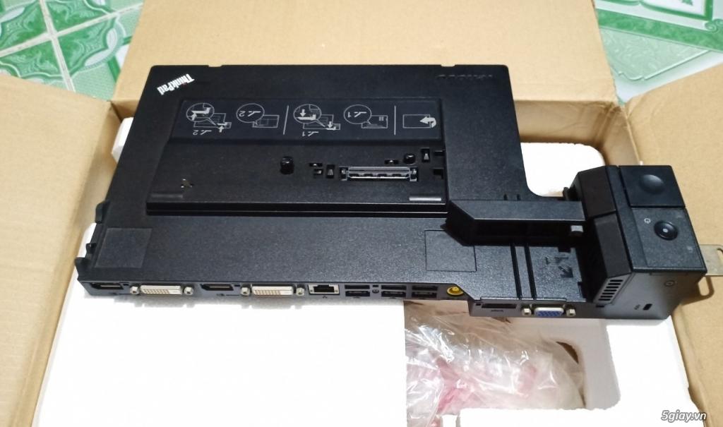 ThinkPad Mini Dock Series 3 T420 W520 X220, Fan W520, Sạc W520-170w - 1