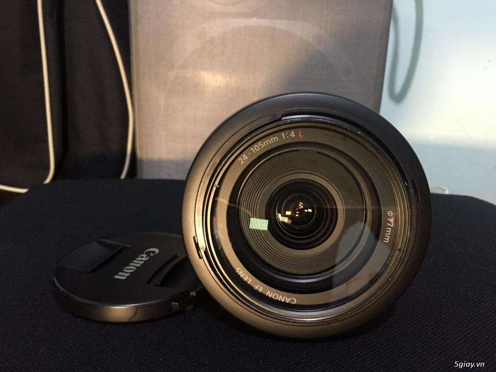 Đà Lạt Bán ống kính Canon 24-105L còn rất mới - 3