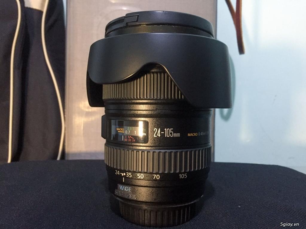 Đà Lạt Bán ống kính Canon 24-105L còn rất mới - 1