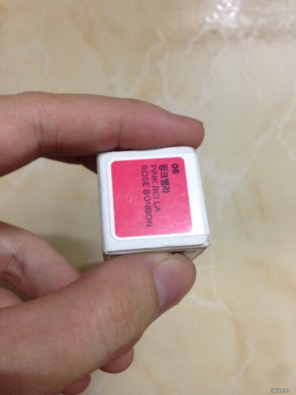 cần nhượng lại em son Thỏi Collagen Ampoule Lipstick The Face Shop - 4