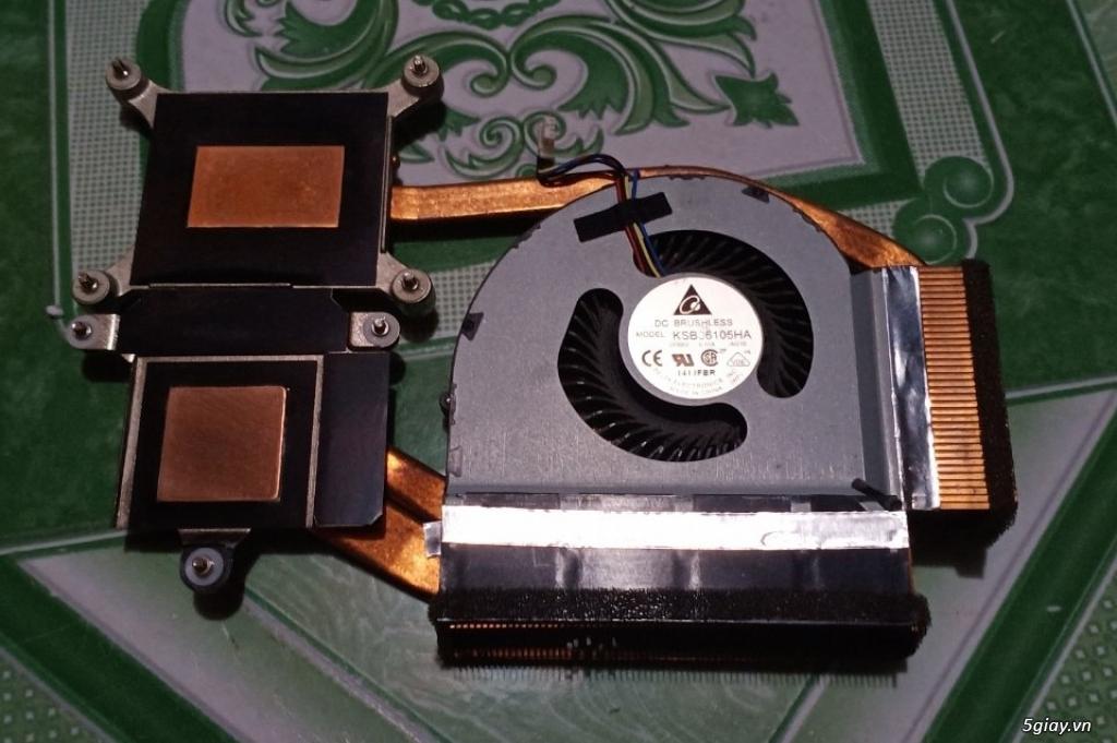 ThinkPad Mini Dock Series 3 T420 W520 X220, Fan W520, Sạc W520-170w