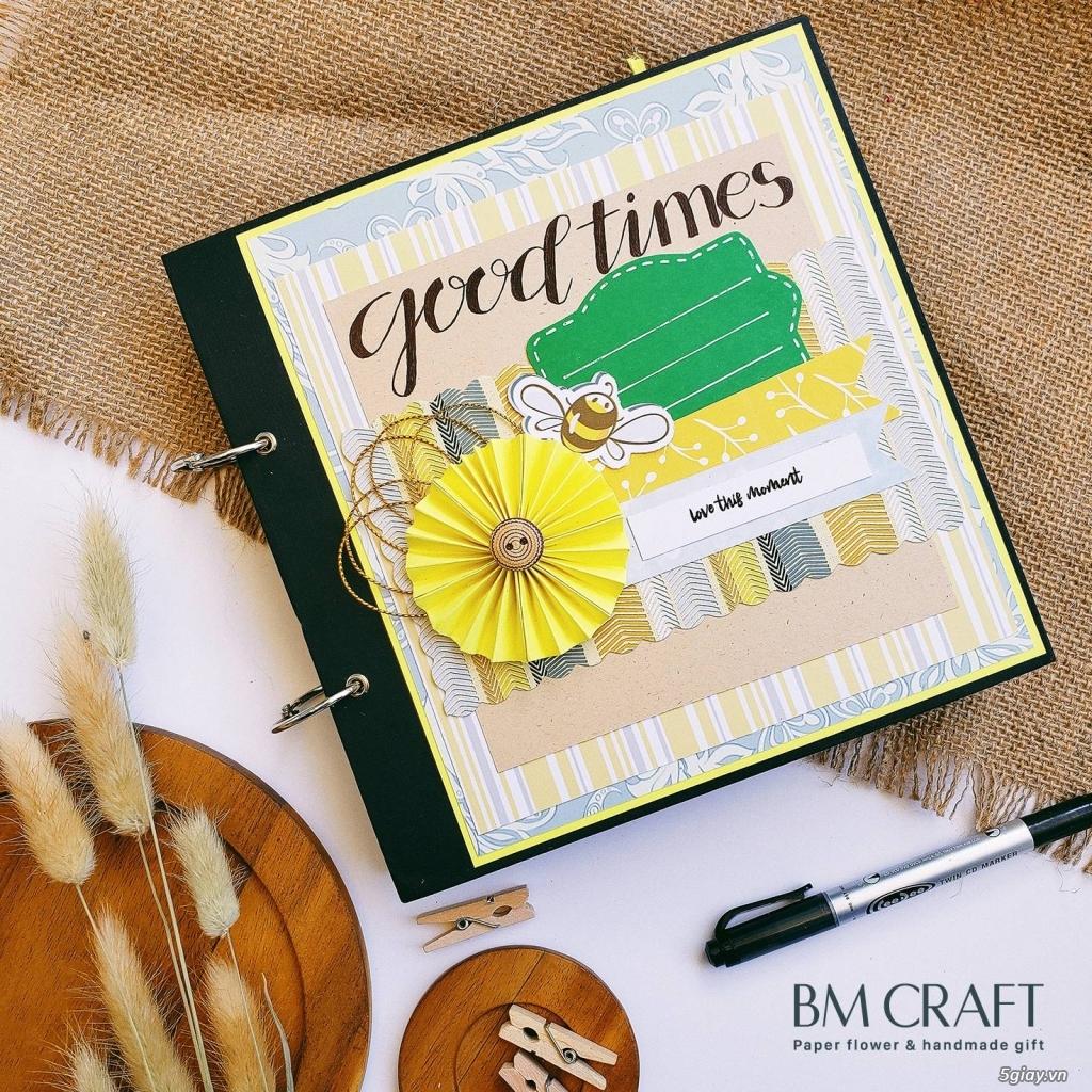 Scrapbook handmade - quà tặng album dán ảnh handmade - 3