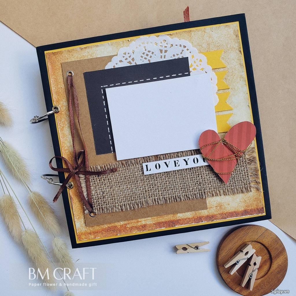 Scrapbook handmade - quà tặng album dán ảnh handmade - 4