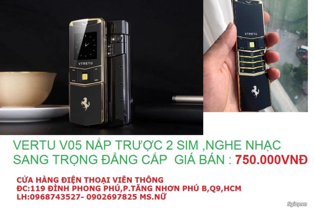 điện thoại vertu v05 nắp trượt giá rẻ q9,thủ đức,vertu v03,a8,a18,k8
