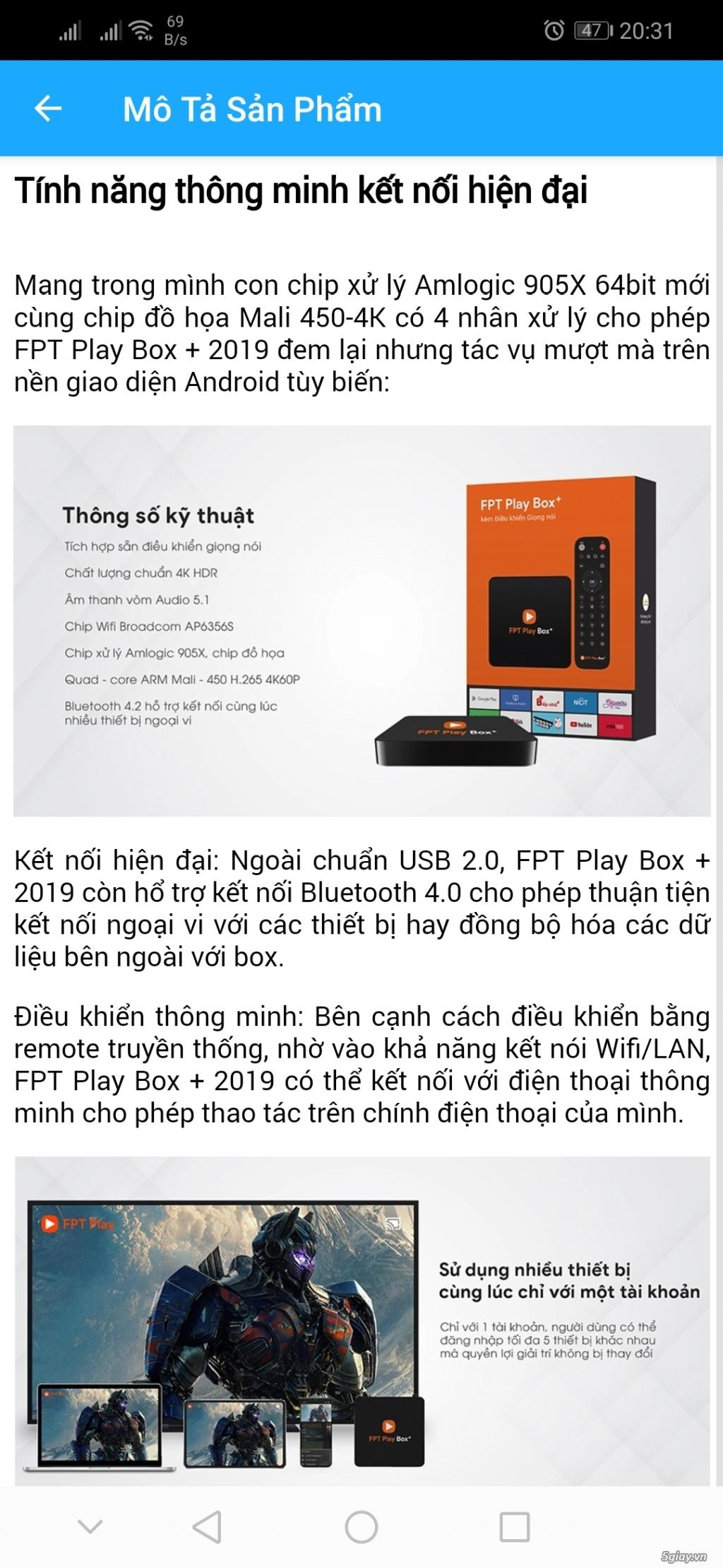 FPT PLAY BOX 2019 FULL 4K