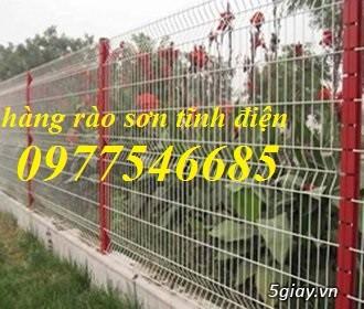 Hàng rào lưới thép sơn tĩnh điện sản xuất theo yêu cầu - 4