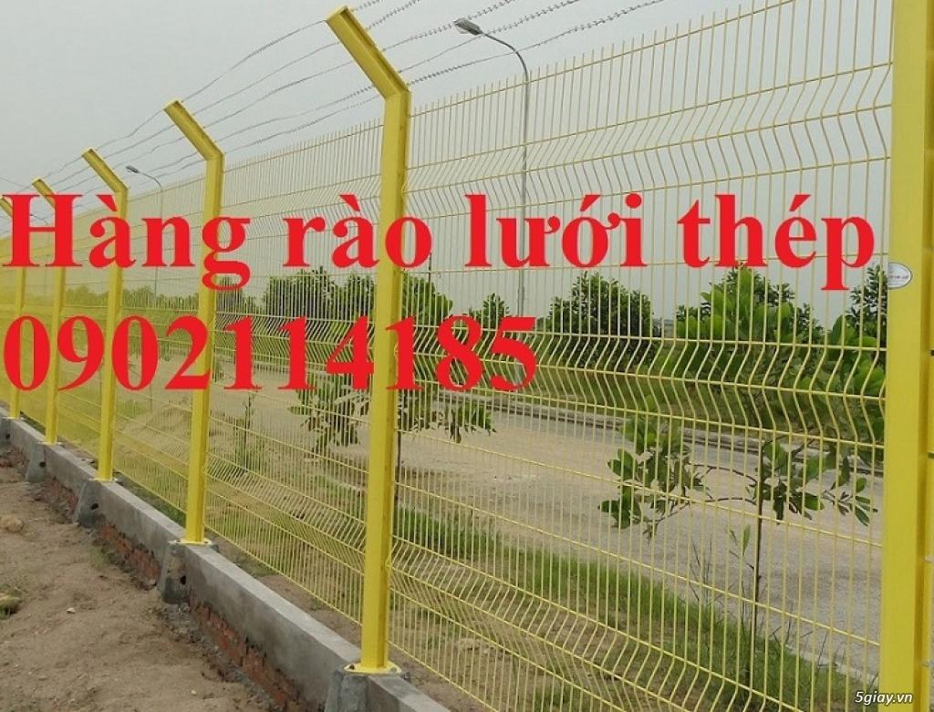 Hàng rào lưới thép sơn tĩnh điện sản xuất theo yêu cầu