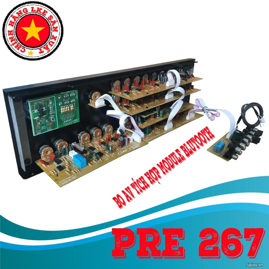 BỘ MẠCH PRE LKE TK-267 NÂNG CẤP PRE AMPLY - 2