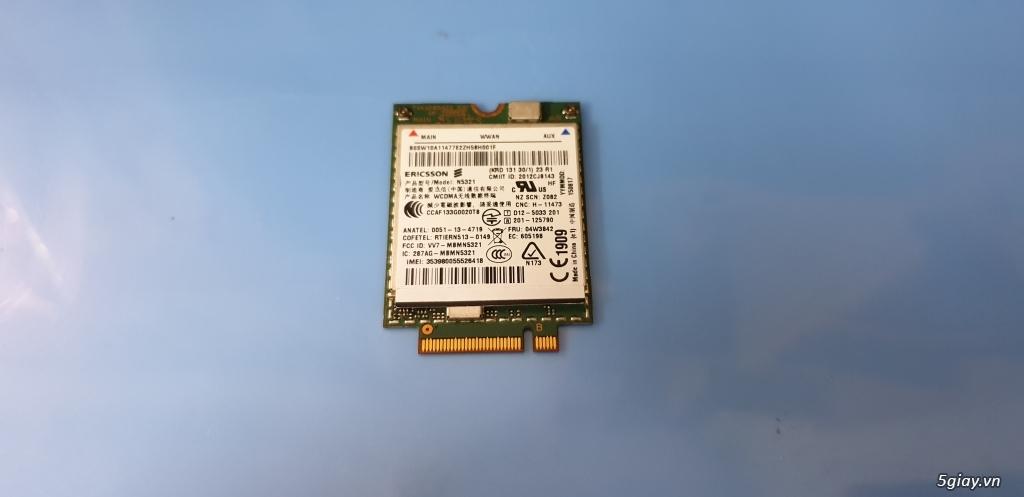 Chuyên bán card wwan 3G /card wwan 4G cho laptop HP, Dell, Lenovo - 1