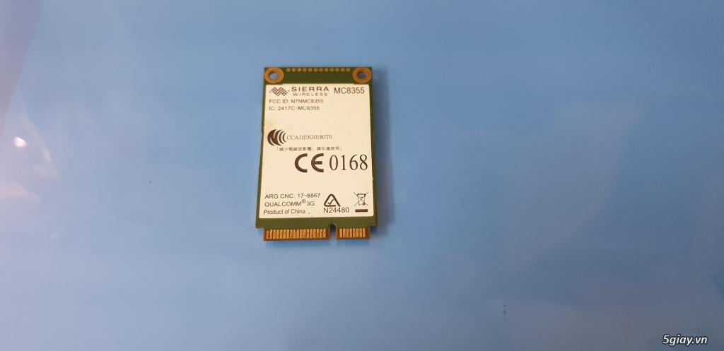 Chuyên bán card wwan 3G /card wwan 4G cho laptop HP, Dell, Lenovo - 4