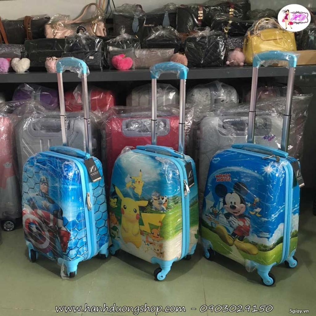 Vali du lịch cặp, vali giá rẻ, vali cho bé yêu