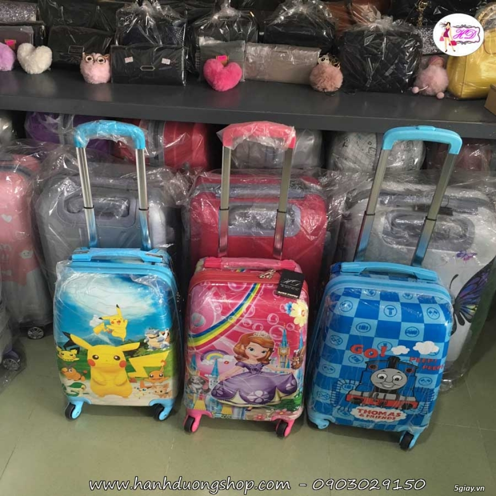 Vali du lịch cặp, vali giá rẻ, vali cho bé yêu - 1