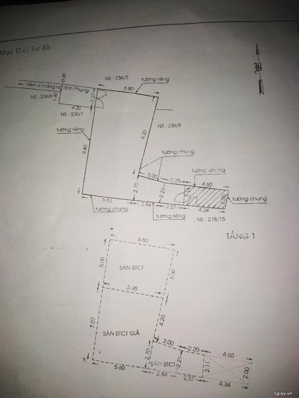 HCM- Bán nhà trong hẻm minh phụng quận 6 SHR, giá rẻ