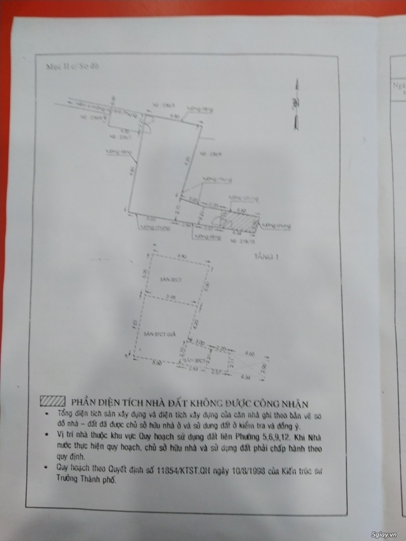 HCM- Bán nhà trong hẻm minh phụng quận 6 SHR, giá rẻ - 2