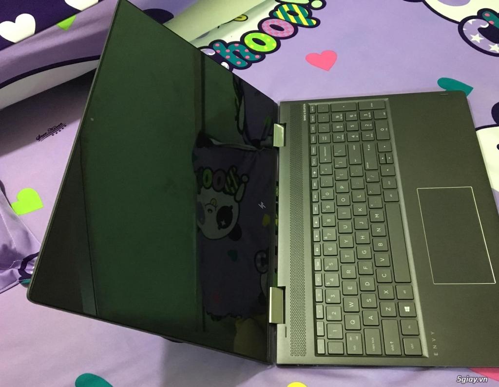 HP ENVY x360 - 15-bq100--AMD Ryzen 5 Pro 2500U-RAM 8GB - SSD 512GB - 1