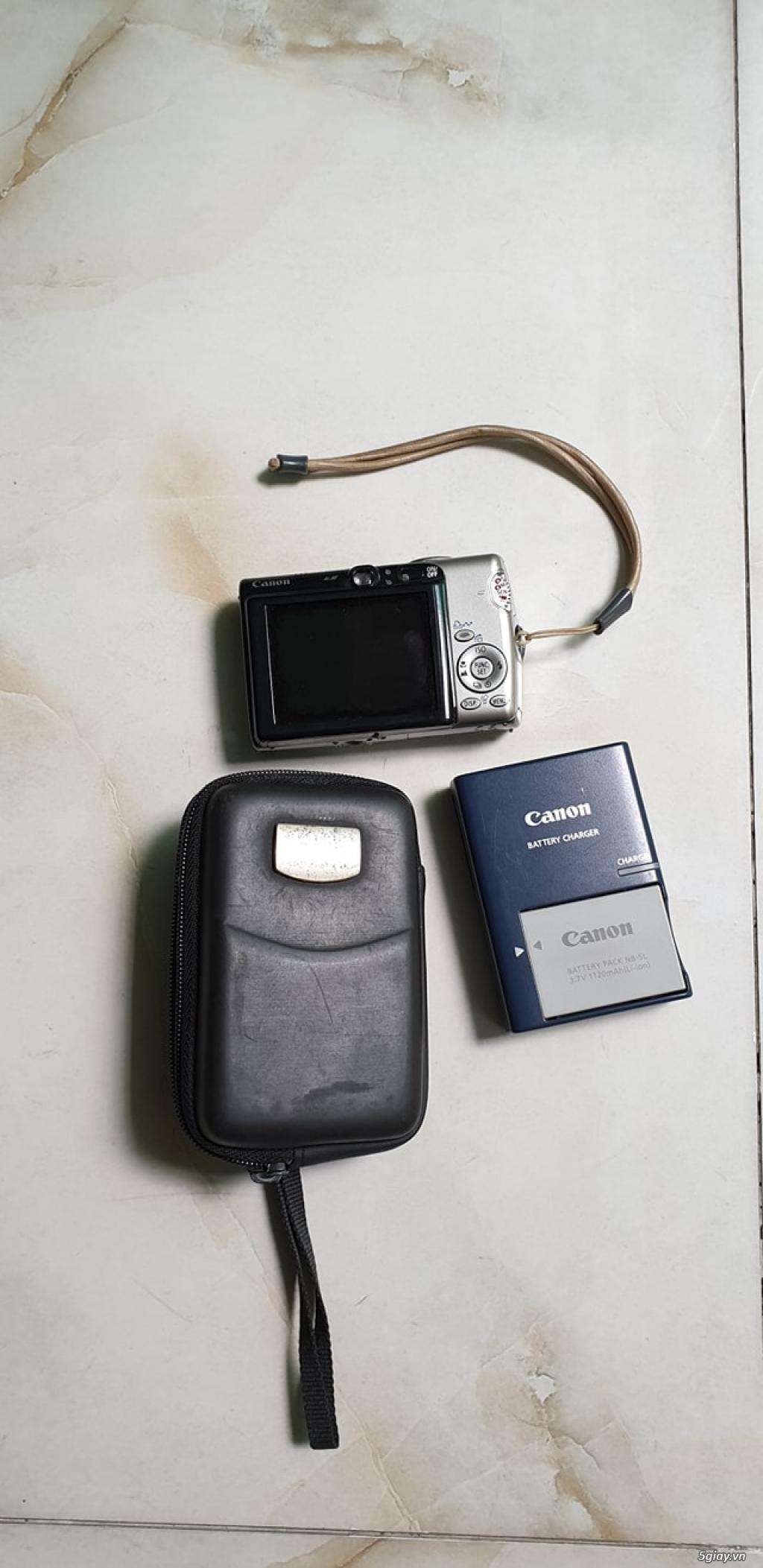 Bán máy ảnh Canon IXY 31 S và POWERSHOT SD700IS còn khá mới - 2
