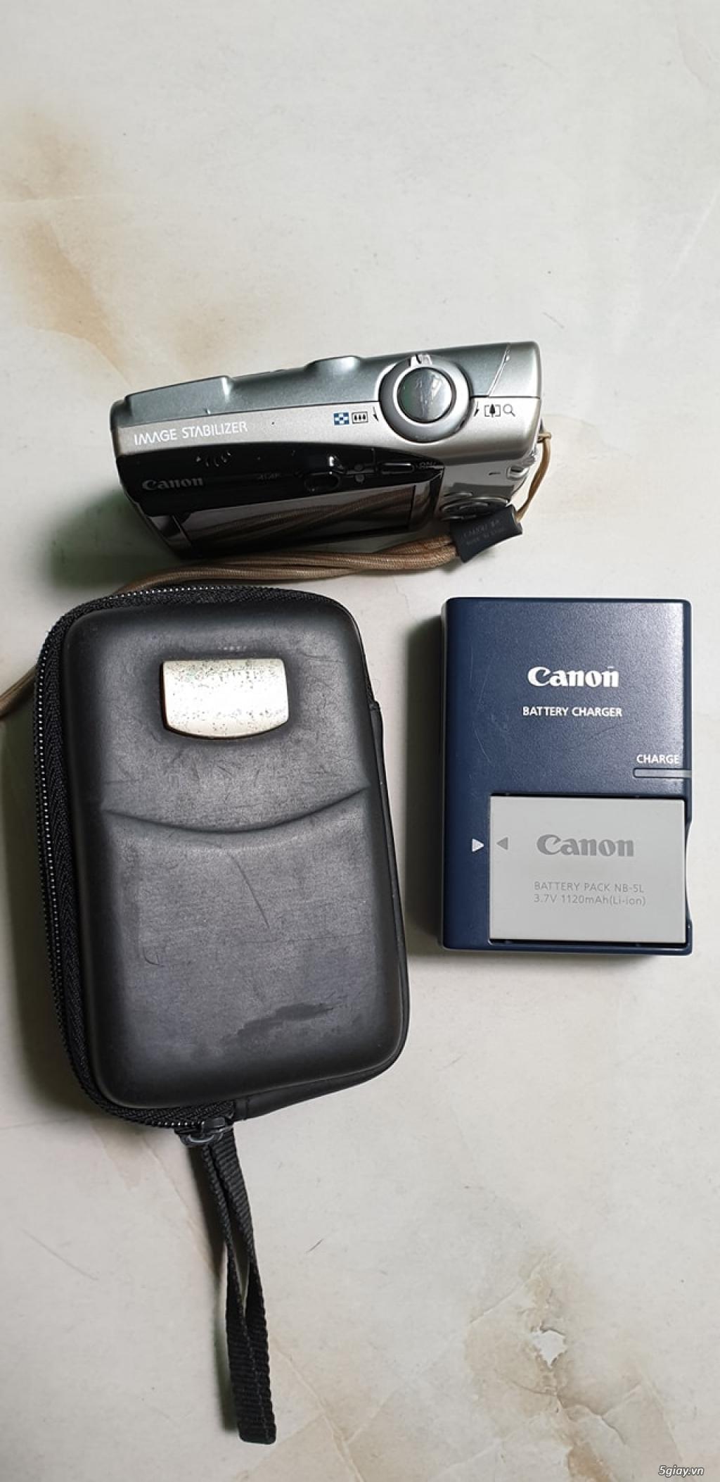 Bán máy ảnh Canon IXY 31 S và POWERSHOT SD700IS còn khá mới