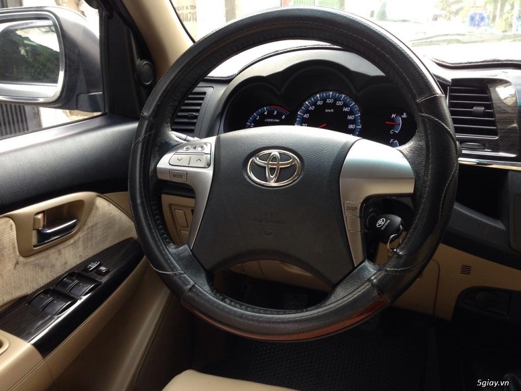 Bán Toyota Fortuner 2016 đk 2017 máy dầu Bạc số sàn đi kỹ - 6
