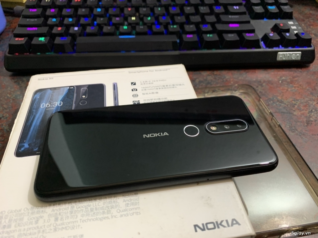[HCM] Bán Nokia X6 bản 6/64 và Sharp Aquos S2 bản 4/64 còn BH - 1