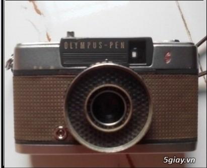 Máy ảnh olympus pen cỗ 1961