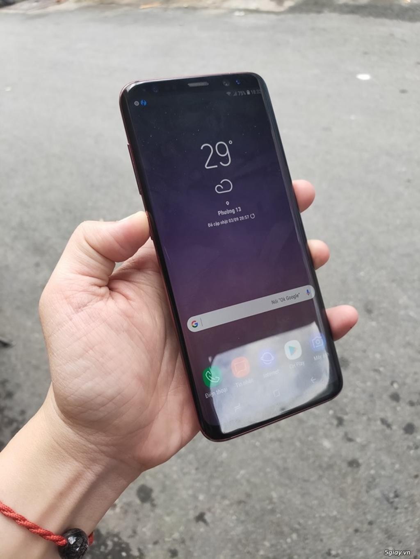 Samsung S8 đỏ, ram 4gb/64gb/ 2 sim/ đẹp zin - 5