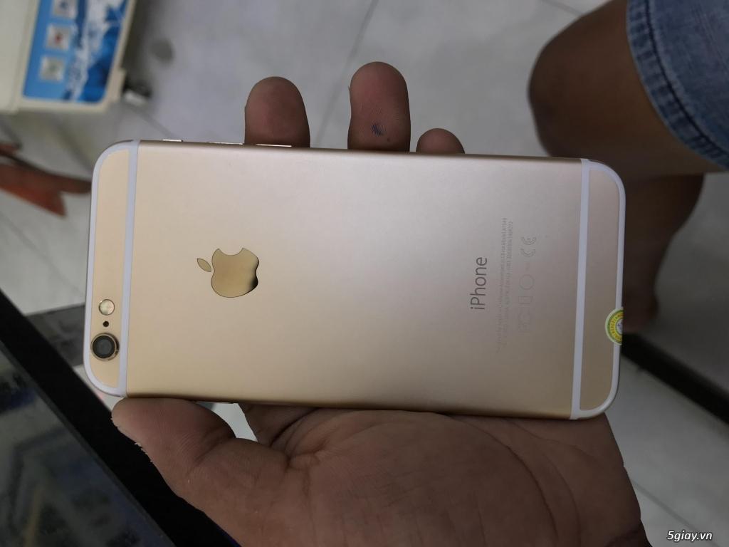 IPHONE 6 GOLD 16GB KVT ĐẸP GIÁ BÈO - 2