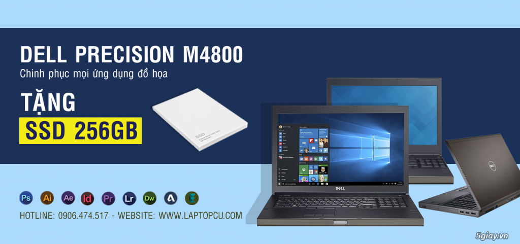 Dell Latitude, HP Elitebook, IBM Lenovo ThinkPad,BẢO HÀNH 12Tháng -36Tháng - 4