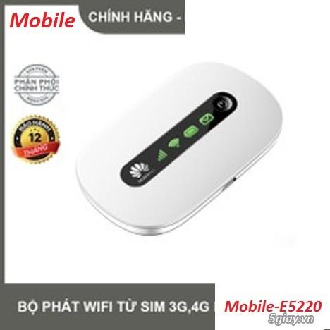 Router Wifi di động Mobile E5220 chuẩn phát 4G - 2