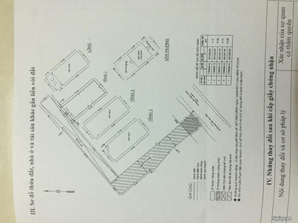 Cần bán gấp nhà mới xây chưa ở Phú Nhuận TPHCM - Giá 9ty3 - 1