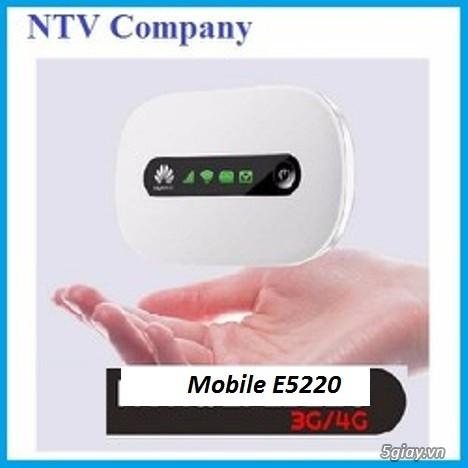 Router Wifi di động Mobile E5220 chuẩn phát 4G - 1