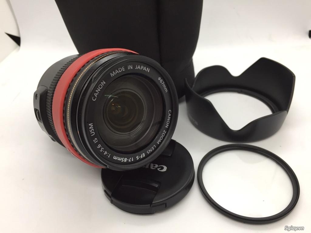 Siêu lens đa dụng canon 17-85mm IS USM - 1