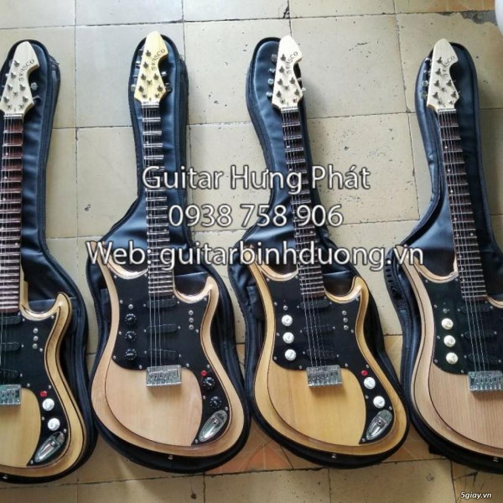 Bán guitar cổ điện phím lõm giá siêu rẻ tại bình dương