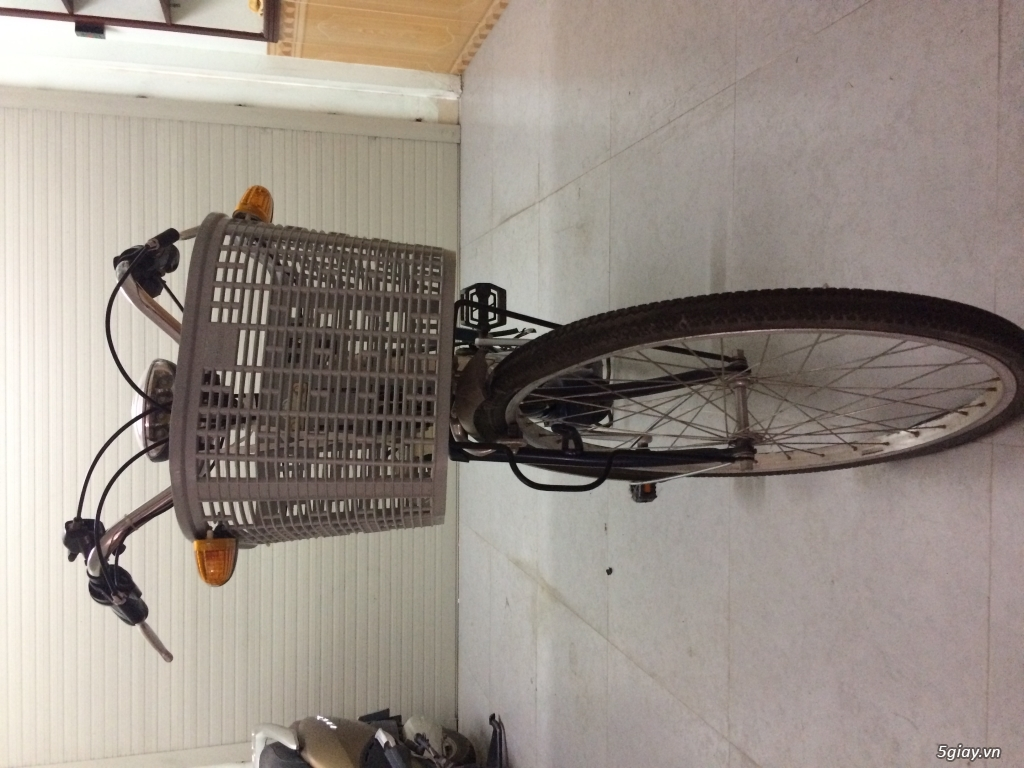 Thanh lý xe đạp điện Nhật cũ ít đi - 1