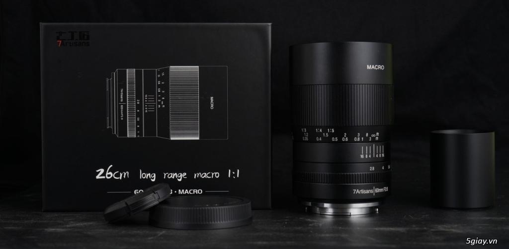 For Fuji: Lens 60f2.8 macro, new 100%, chưa bóc tem - 5