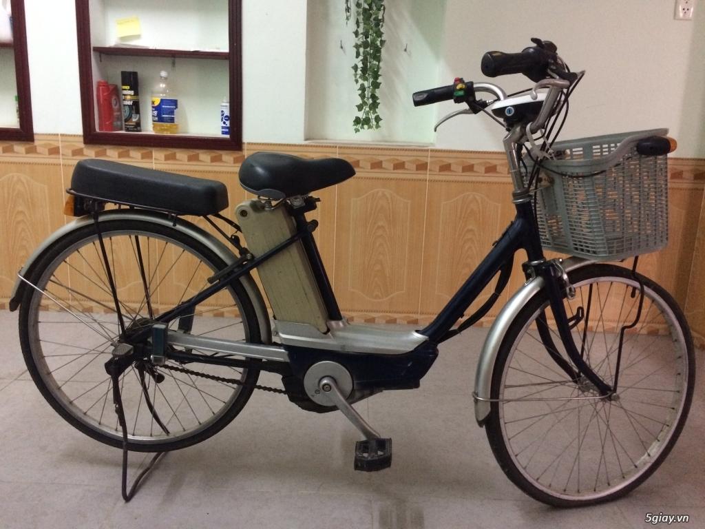 Thanh lý xe đạp điện Nhật cũ ít đi - 2