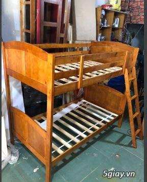 Thanh lý giường xã kho gỗ tự nhiên, cũ, mới giá rẻ
