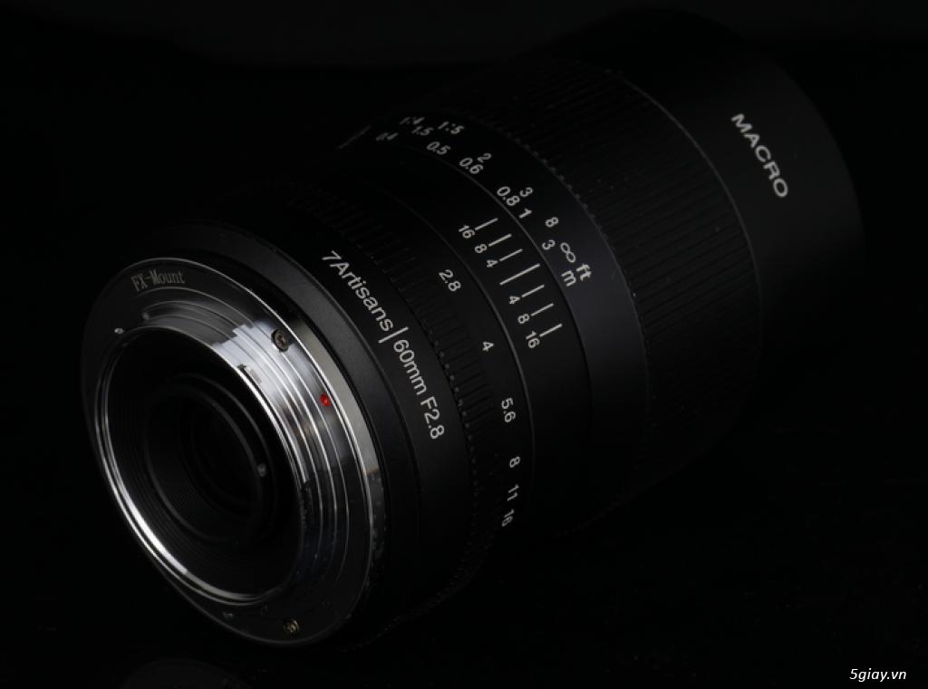 For Fuji: Lens 60f2.8 macro, new 100%, chưa bóc tem - 6