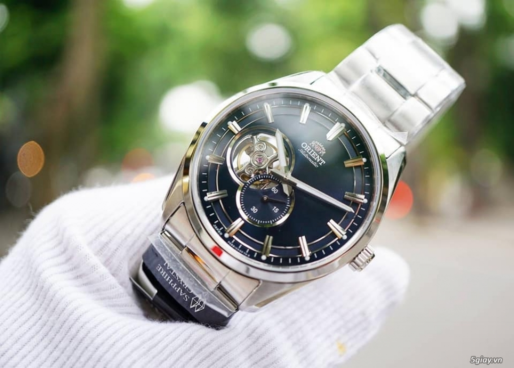 Orient Small Second Open Heart - 13