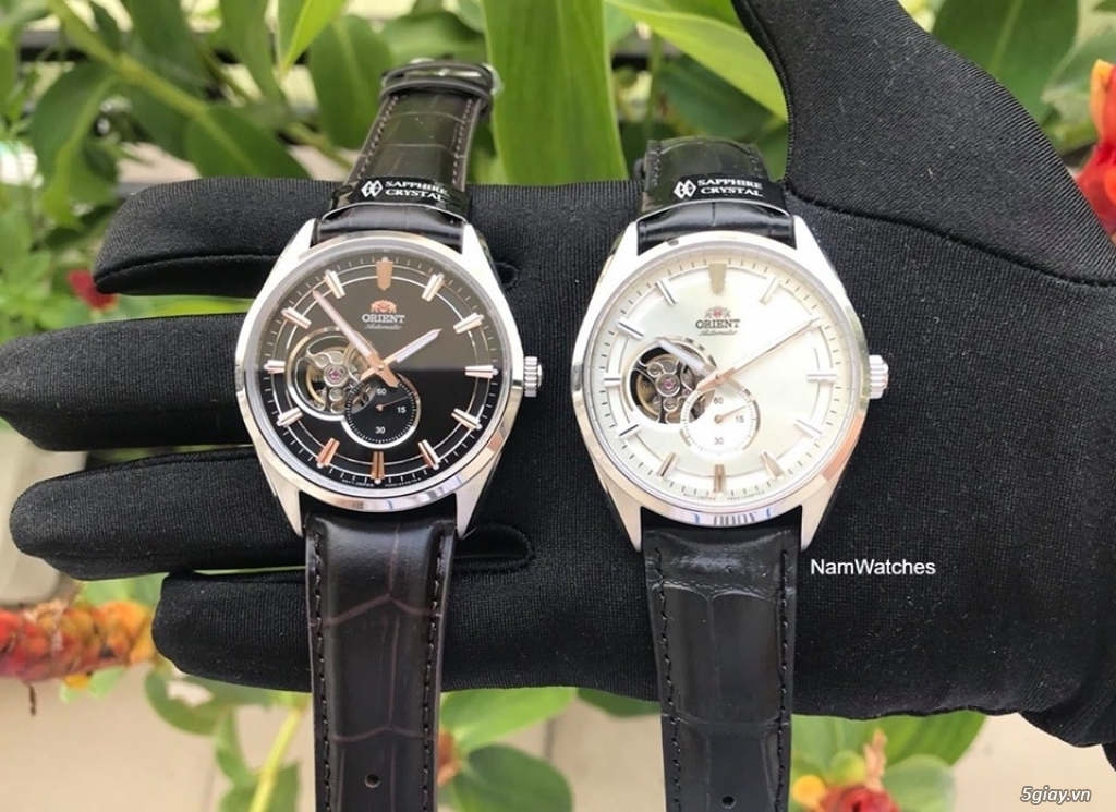 Orient Small Second Open Heart - 2